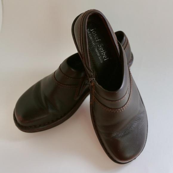 2fbb2b9a9fe17 Josef Seibel Shoes | Leather Clogs | Poshmark
